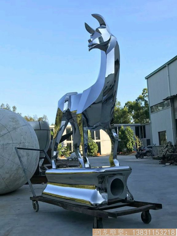 不锈钢抽象马